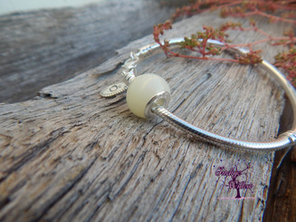 Smooth European Breast Milk Charm (Natural Color)