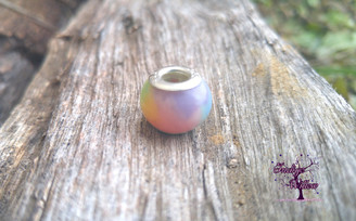 Smooth European Breast Milk Charm/Bead (Rainbow or Colorized)