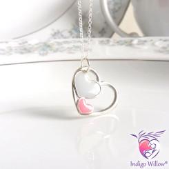 Three Hearts Breast Milk Pendant