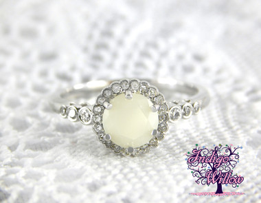 Breastmilk Diamond Ring