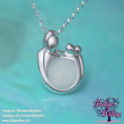 Spring Liu #4646 / Upgrade to Mother and Child Breast Milk Pendant  2 Children