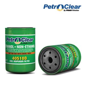 "PetroClear Filter 4x5, 1-12 UNF (3/4"" flow) 10 micron (40510D)"