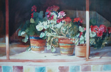 Sometimes Life is So Simple Offset Lithograph from the original by Karen Vernon 20 x 32