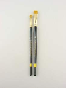 The Vernon Shader #12 is designed to provide a controlled application of paint and to offer the perfect lift of watercolors from Aquabord and heavy papers.  The brush is designed for controlled lifting and not for scrubbing.