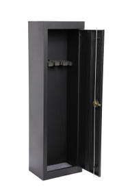 901 - 5 Gun Metal Security Cabinet
