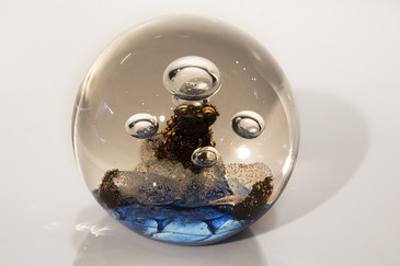 "SOLD - Selkirk ""Stratos"" Limited Edition Paperweight, 1987"