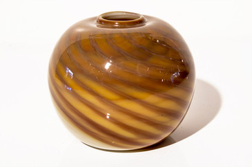 SOLD - Randy Strong Art Glass Vase. 1979
