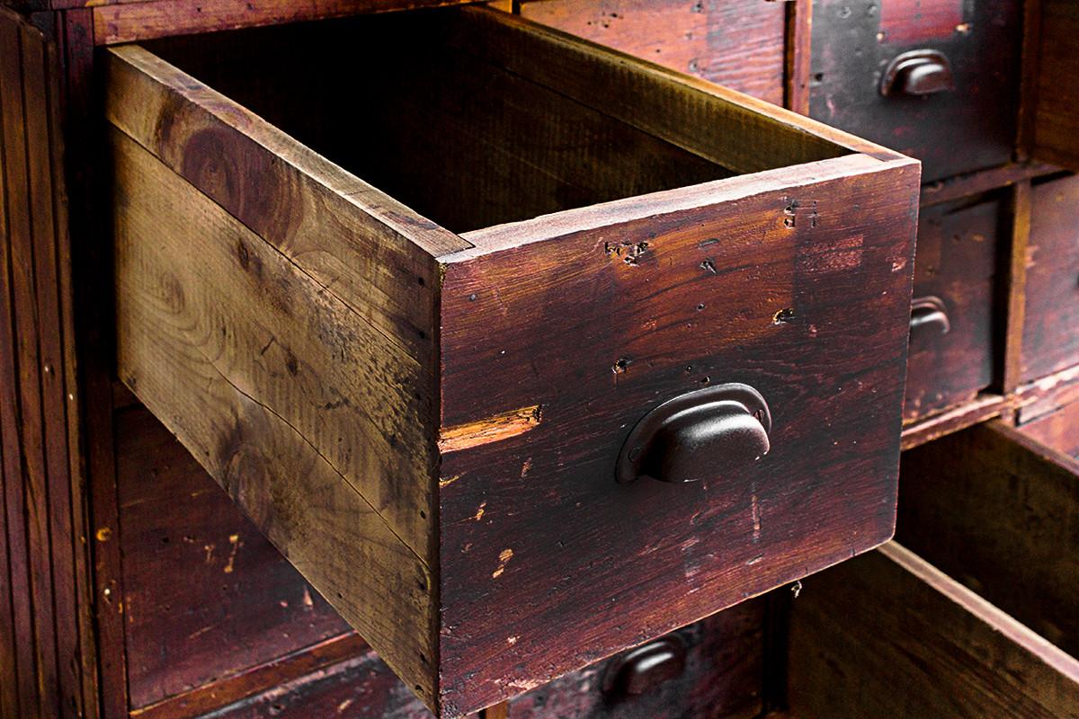 Large Antique Multi-Drawer Storage Cabinet. C.1890s - Rehab ...