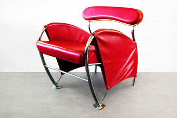 SOLD - Massimo Iosa-Ghini -  Numero Uno Chair from Moroso, 1987