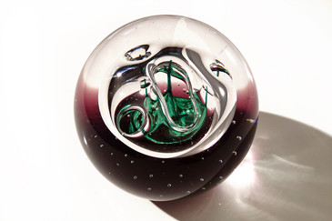 "SOLD - Caithness ""Dilemma"" Paperweight, Limited Edition"