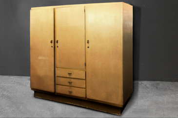 Large Dutch Art Deco Armoire C. 1930s