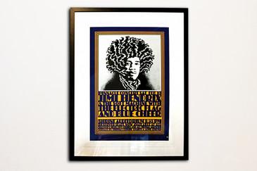 "John Van Hamersveld ""Pinnacle Hendrix"" Concert Poster, 2013"
