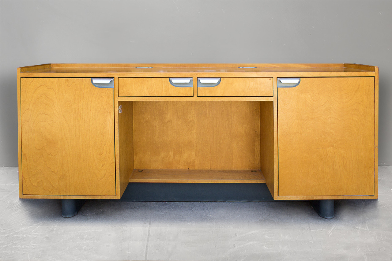 sold walt disney animation studios credenza desk by kem weber