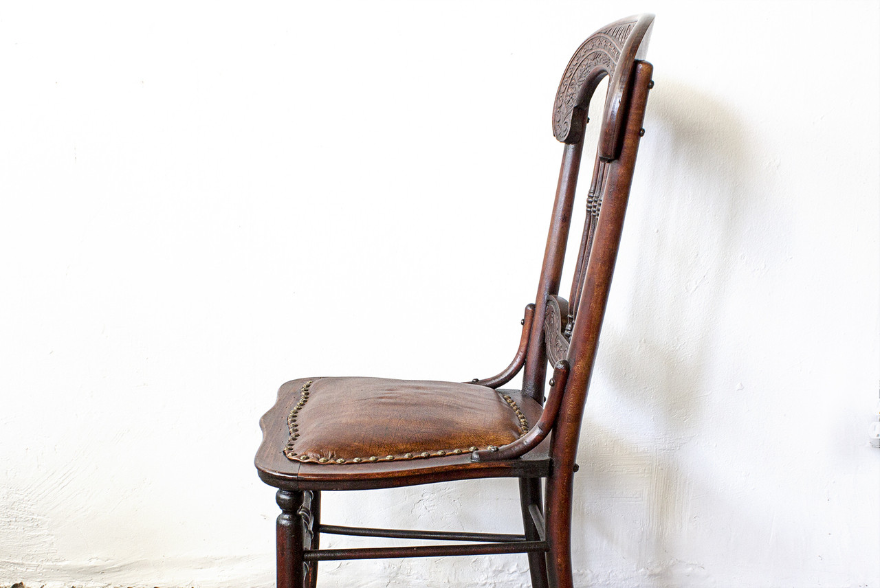 SOLD   Antique Victorian Side Chair