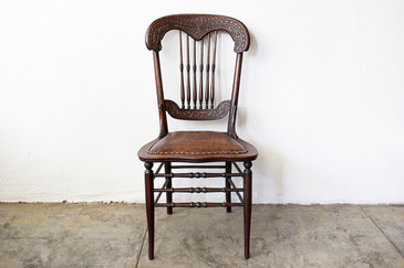 SOLD - Antique Victorian Side Chair