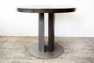 Machine Age Steel Dining Table, CUSTOM ORDER