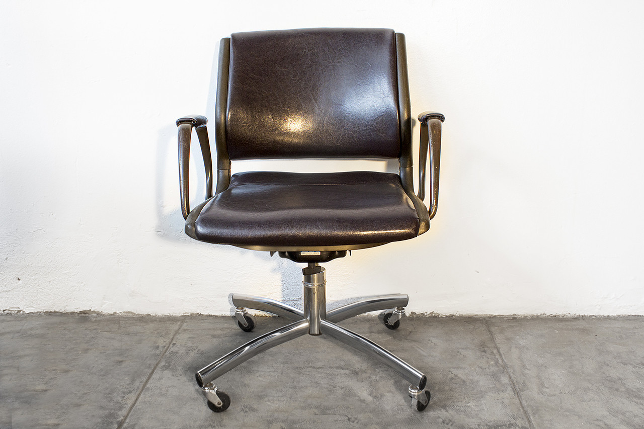 sold vintage steelcase office chair refinished
