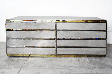 SOLD - Mirrored Dresser by Ello, circa 1970