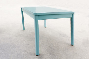 SOLD - 1960s McDowell Craig Tanker Table, Refinished