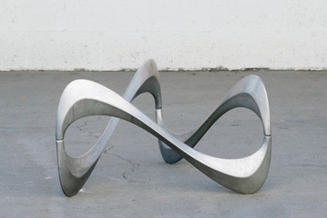 SOLD - Knut Hesterberg for Ronald Schmidt Snake Table, 1965