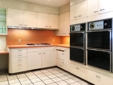 entire st charles 1960s mcm kitchen and pantry