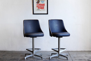 SOLD - 1960s Retro Bar Stools by ChromeCraft