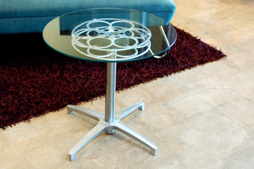 Film Reel Side Table, SPECIAL ORDER