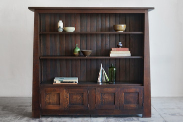 SOLD - California Craftsman Tiger Oak Bookcase, 1900s
