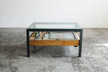 Vintage Japanese Pachinko Game Upcycled as Coffee Table