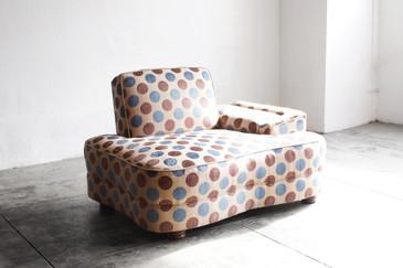 Oversized 1950s Club Chair, Organic Shape