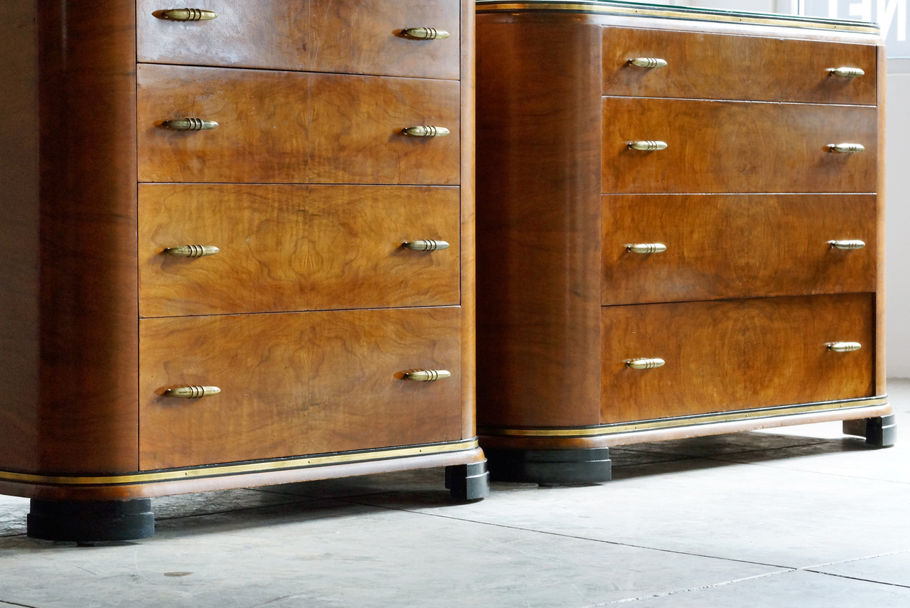 Sold Art Deco Dresser Set By Rockford 1930s Rehab