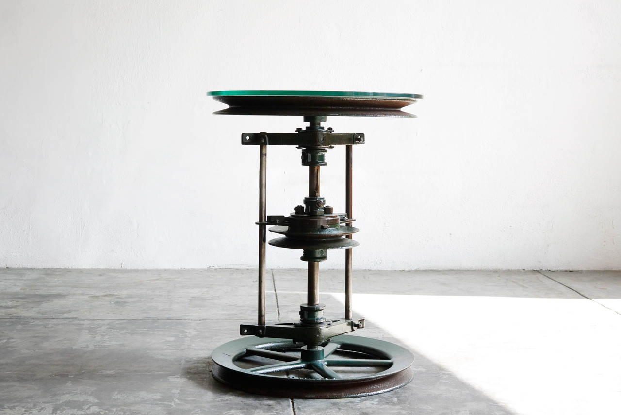 Marvelous ... Industrial Side Table. Image 1
