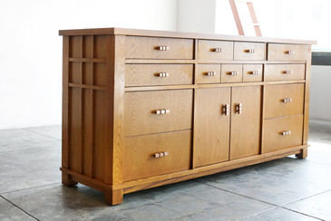 "SOLD - Robert Sonneman ""Urban Prmitive"" Sideboard"