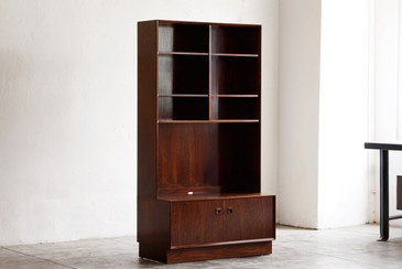 SOLD - Danish Modern Rosewood Cabinet by Brouer