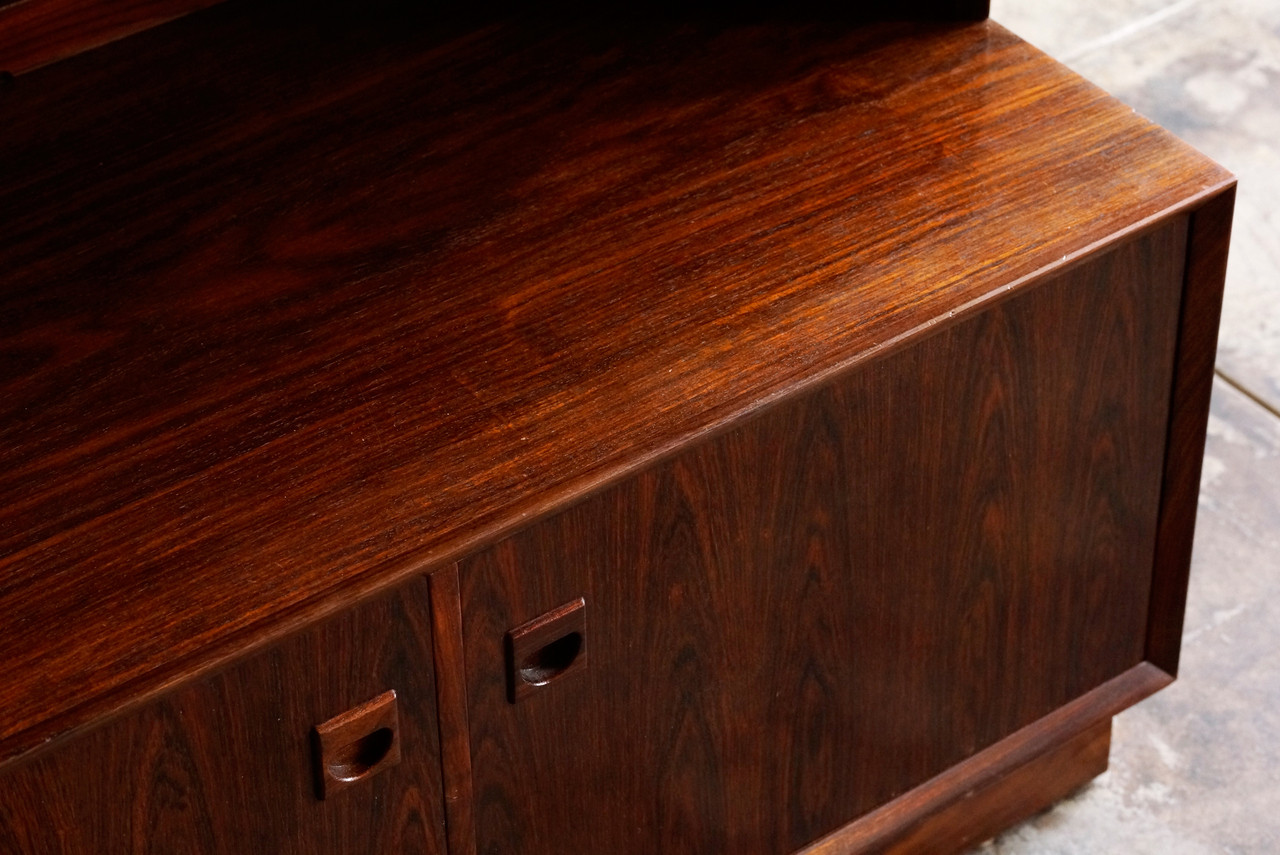 Danish Modern Rosewood Cabinet by Brouer - Rehab Vintage Interiors