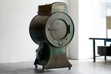 Antique Front Load Steam Dryer by Huebsch Mfg. Co., 1933