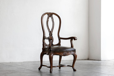 SOLD - Antique Victorian Mahogany Armchair