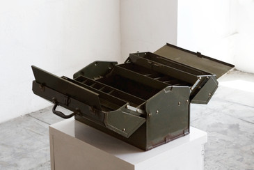 SOLD - Mechanics Type II Tool Case by Hamilton, 1940s