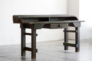 SOLD  - American Craftsman Workbench, c. 1910