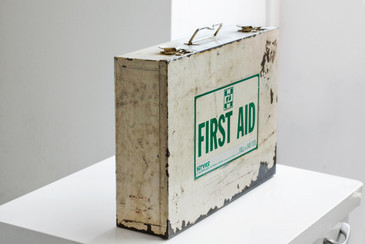 SOLD - Vintage First Aid Industrial Carry Case