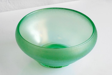 SOLD - Art Glass Bowl by Frederick Carder for Steuben, c. 1915