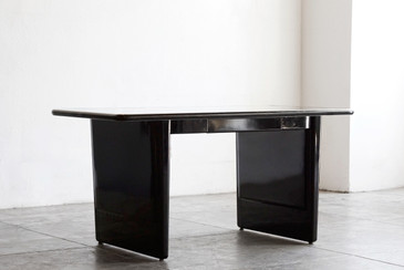 1960s AllSteel Panel Leg Tanker Table, Refinished - CUSTOM ORDER