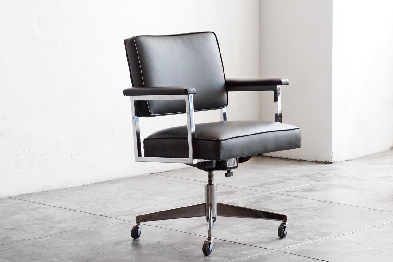SOLD 1970s SteelCase Office Chair Refinished Rehab Vintage