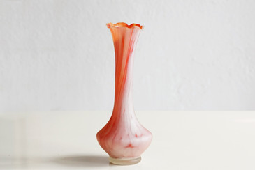 SOLD - Vintage Milk Glass Vase, c. 1920s