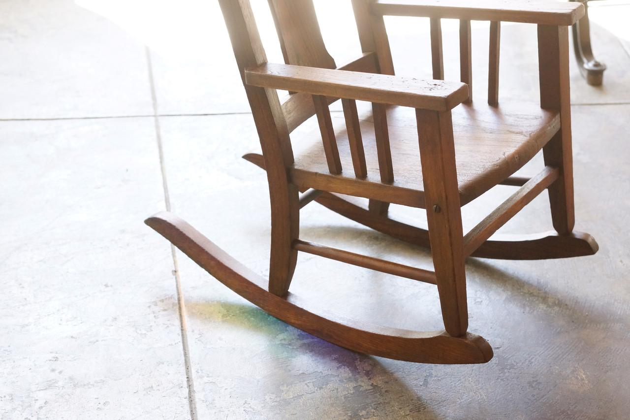 ... Rocking Chair, Solid Wood. Image 1. Image 1; Image 2; Image 3 ...