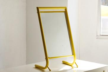 SOLD - Mid Century Vintage Vanity Mirror, Refinished