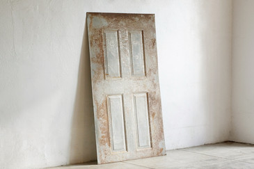 Reclaimed Antique Steel Door Cover