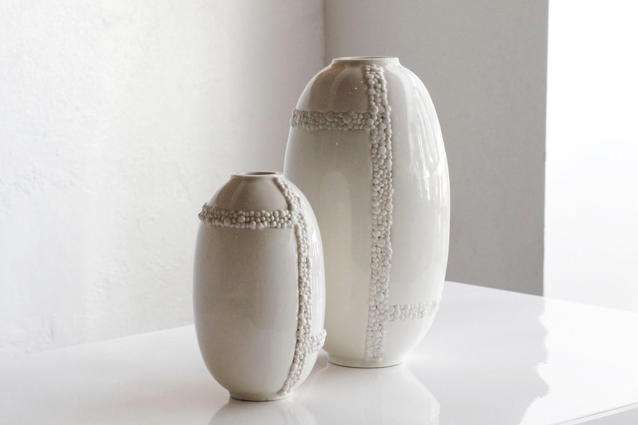 Sold pair of jonathan adler ceramic vases rehab vintage interiors sold pair of jonathan adler ceramic vases reviewsmspy
