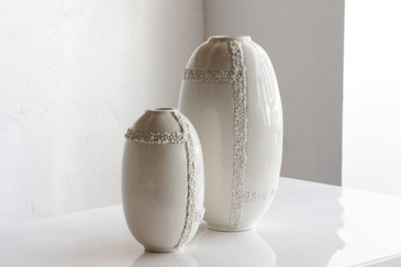SOLD - Pair of Jonathan Adler Ceramic Vases