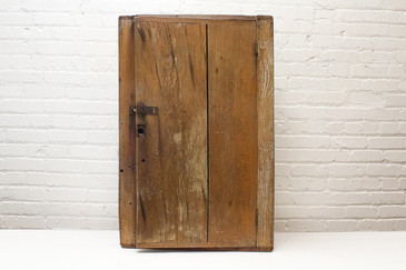 SOLD-19th Century Wood Storage Cabinet